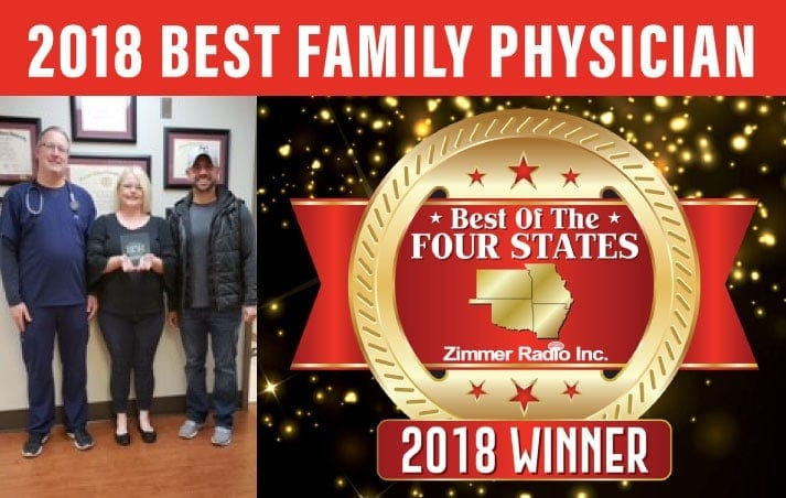 2018 Best Family Physician Winner
